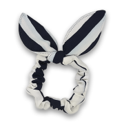 Scrunchie w. Bunny Ears - Sailor Stripes