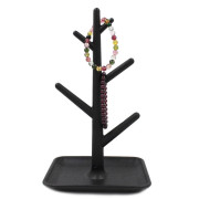 Mono Tree Branch Jewelry Organizer - Black