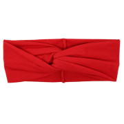 SOHO® Turban Headband, Red