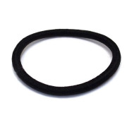 SOHO® Black Soft Hair Elastics - 5 pcs