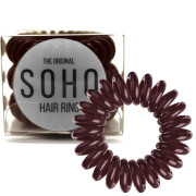 SOHO® Gumka do włosów Spirala, 3 szt. Chocolate brown