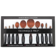 Technique PRO® 10 Piece Oval Makeup Brush set